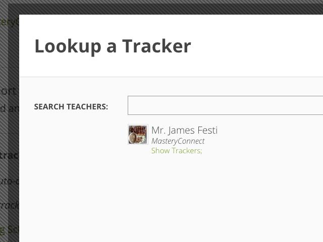 Benchmark Show Trackers