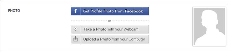 Activate Profile picture