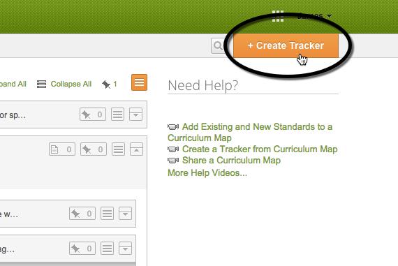 Create Tracker