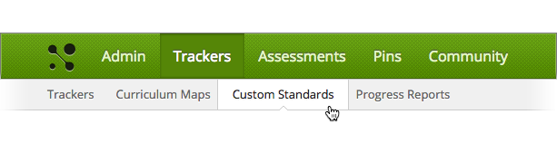 Trackers - Custom Standards